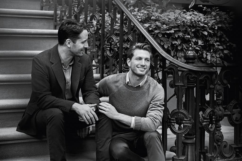Campanha da joalheria Tiffany & Co. retrata casal gay de Nova York. Peter Lindbergh/Divulgação Tiffany