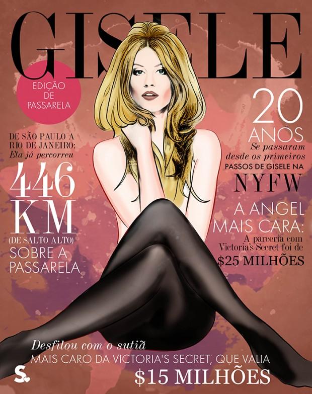 """A modelo posou de Brigitte Bardot para a edição de outubro de 2014 da 'Elle"""" brasileira. Divulgação"""