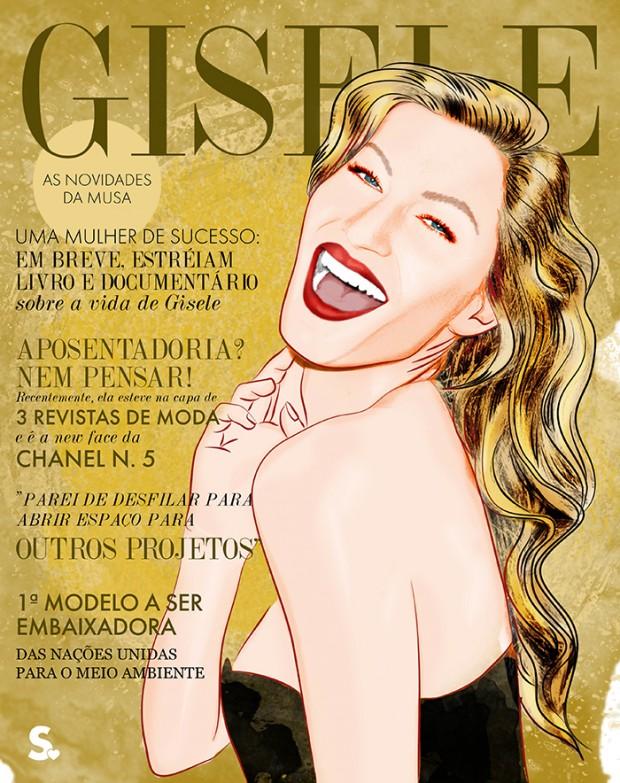 """Assim como a edição de 1 ano da """"Harper's Bazaar"""" brasileira. Divulgação"""