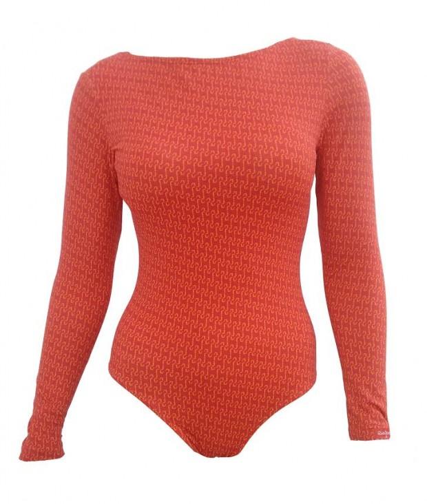 Body da marca Fabíola Molina, que será vendido durante os Jogos Olímpicos do próximo ano. Divulgação
