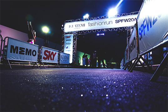 A 7ª edição do Fashion Run, que acontece em 18 de outubro, marcará a abertura da 40ª SPFW. Crédito: Divulgação