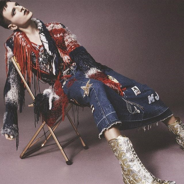 """A drag queen Milk, personagem de Don Donigan, famosa por sua participação no reality """"RuPaul's Drag Race"""". Ela é uma das celebridades que estampam a nova campanha da Marc Jacobs. Crédito: Divulgação"""